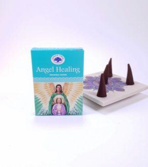 Conuri parfumate Angel Healing, Vindecare cu Ingeri, Green Tree