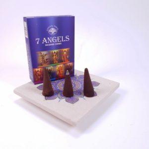 Conuri parfumate 7 Angels, Green Tree