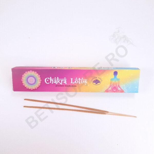 Cutie cu betisoare parfumate Chakra Lotus fotografie produs
