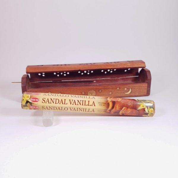 Betisoare parfumate Sandal Vanilla, Hem