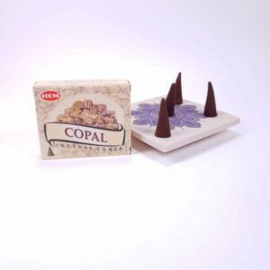 Conuri parfumate Copal, Hem, realizate in india