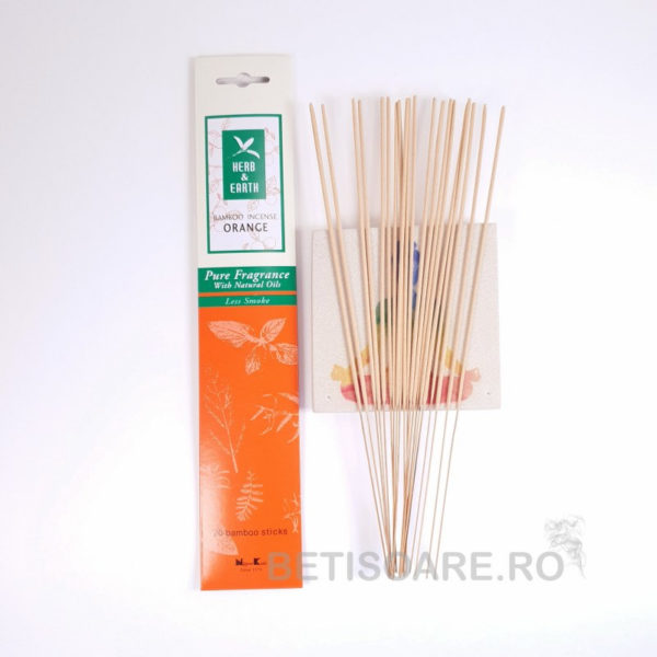Betisoare parfumate Orange, Nippon Kodo. Fotografie produs magazin online