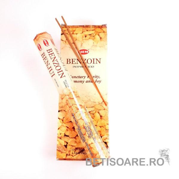 Betisoare parfumate HEM Benzoin