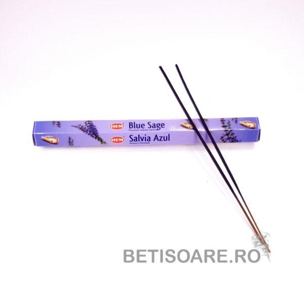 Fotografie cutie cu Betisoare parfumate HEM Blue Sage