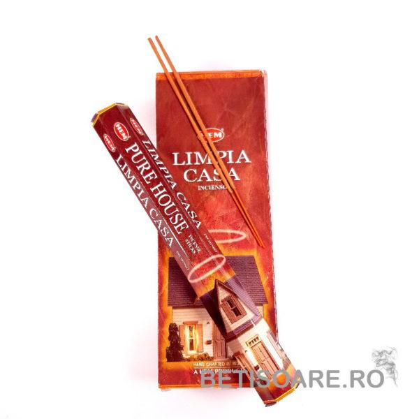 Betisoare parfumate HEM Pure House Casa Pura – fotografie produs