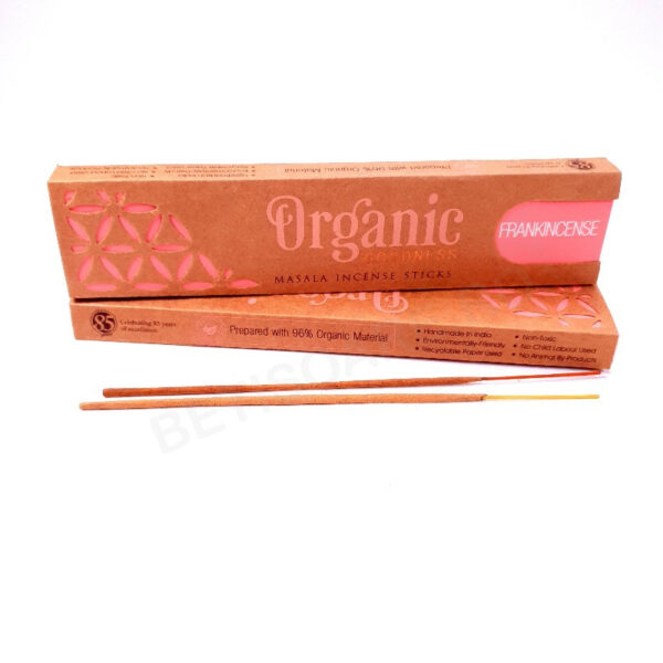 Betisoare parfumate ORGANIC Frankincense Song of India