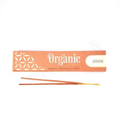Cutie cu betisoare parfumate Organic Jasmine