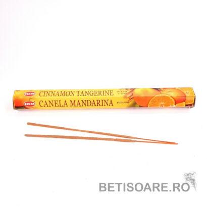 Betisoare parfumate HEM Cinnamon Tangerine