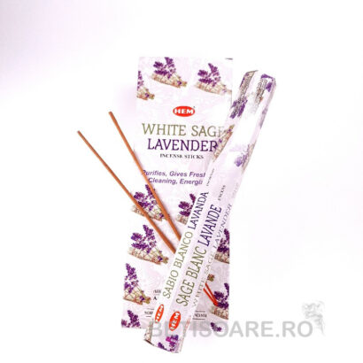 Betisoare parfumate HEM White Sage Lavender