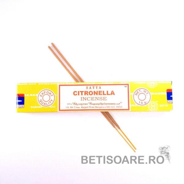 Betisoare parfumate Satya Citronella