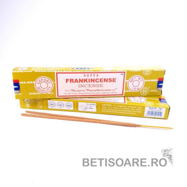 Betisoare parfumate Satya Frankincense