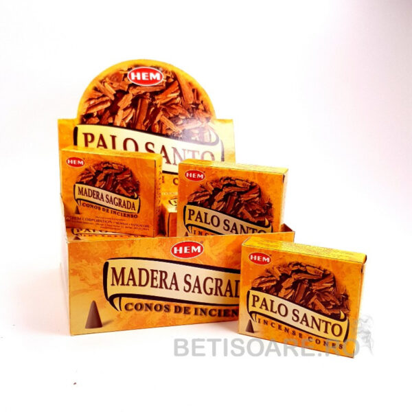Conuri parfumate HEM Palo Santo