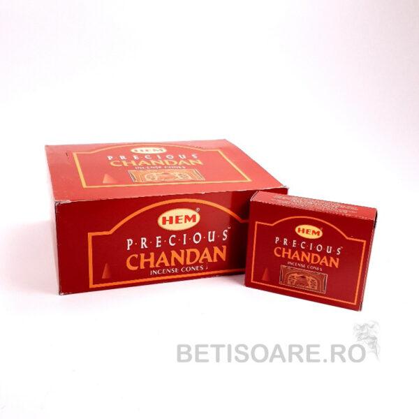 Conuri parfumate HEM Precious Chandan