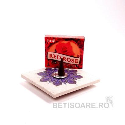 Conuri parfumate HEM Red Rose