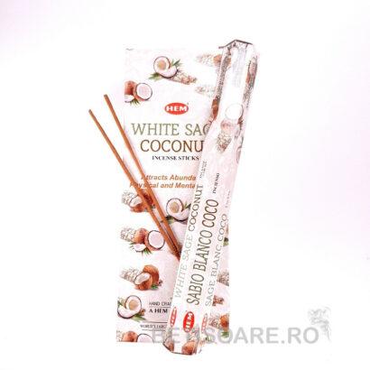 Betisoare parfumate HEM White Sage Coconut