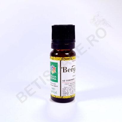 Recipient din sticla, 10 ml, cu ulei esential de bergamota