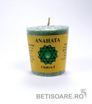 Lumânare verde chakra inimii Anahata