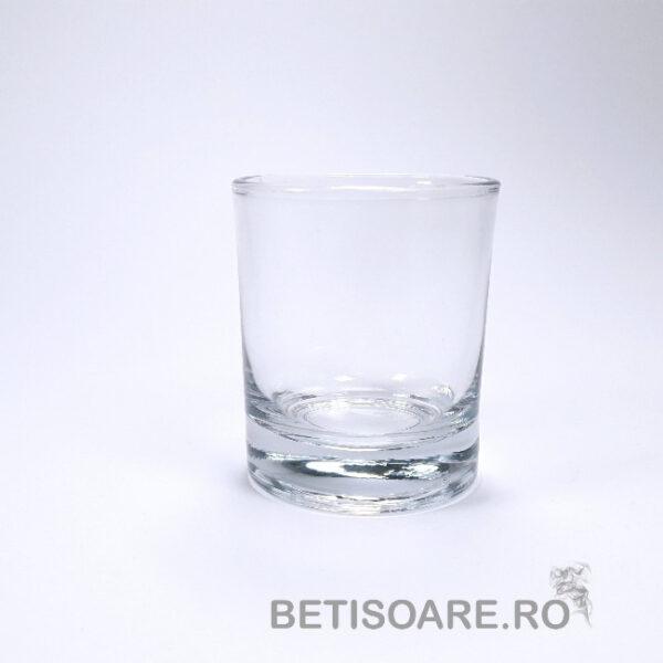 Suport din sticla pentru lumanare| Pahar
