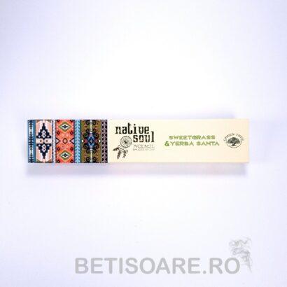 betisoare parfumate cu sweetgrass si yerba santa