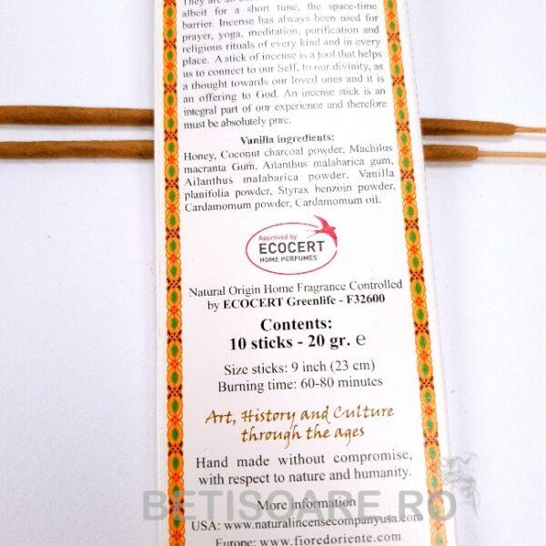 bete parfumate certificate ecocert