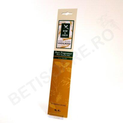 foto cutie bete parfumate sandalwood